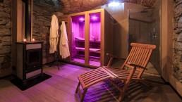 Sauna alla La Stazione dell'Acqua